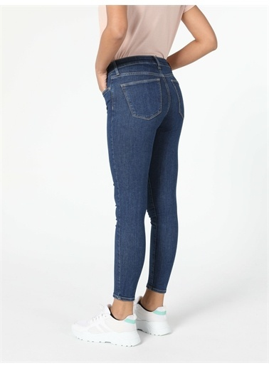 Colin's CL1057145_Q1.V1_DN08092 759 Lara Super Slim Fit Orta Bel Dar Paça Kadın Jean Pantolon Renkli